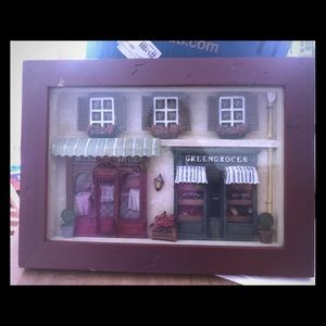 Other - Vintage 3D Diorama  Shadow Box Scene Wall Hanging